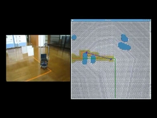Download Video of Path Planning Method for Obstacle Avoidance While Moving on A Designated Path