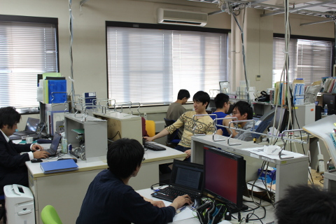 Main room of Intelligent Robot Laboratory